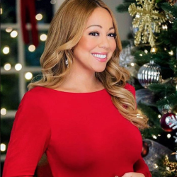 Holiday Glam by @ItsTroyJensen for Mariah Carey
