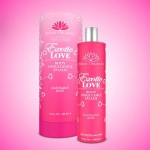 Exotic Love Organic Body Splash