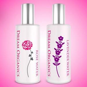 Rose & Lavender Water Set