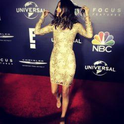 Celebrity Skin on the Red Carpet
