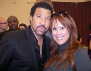 Teri Groves and Lionel Richie
