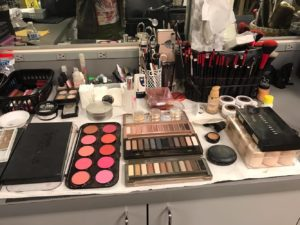 Makeup Setup for Fuller House